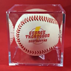Autographed Rawlings Official Major League Baseballs with Acrylic Display cube
