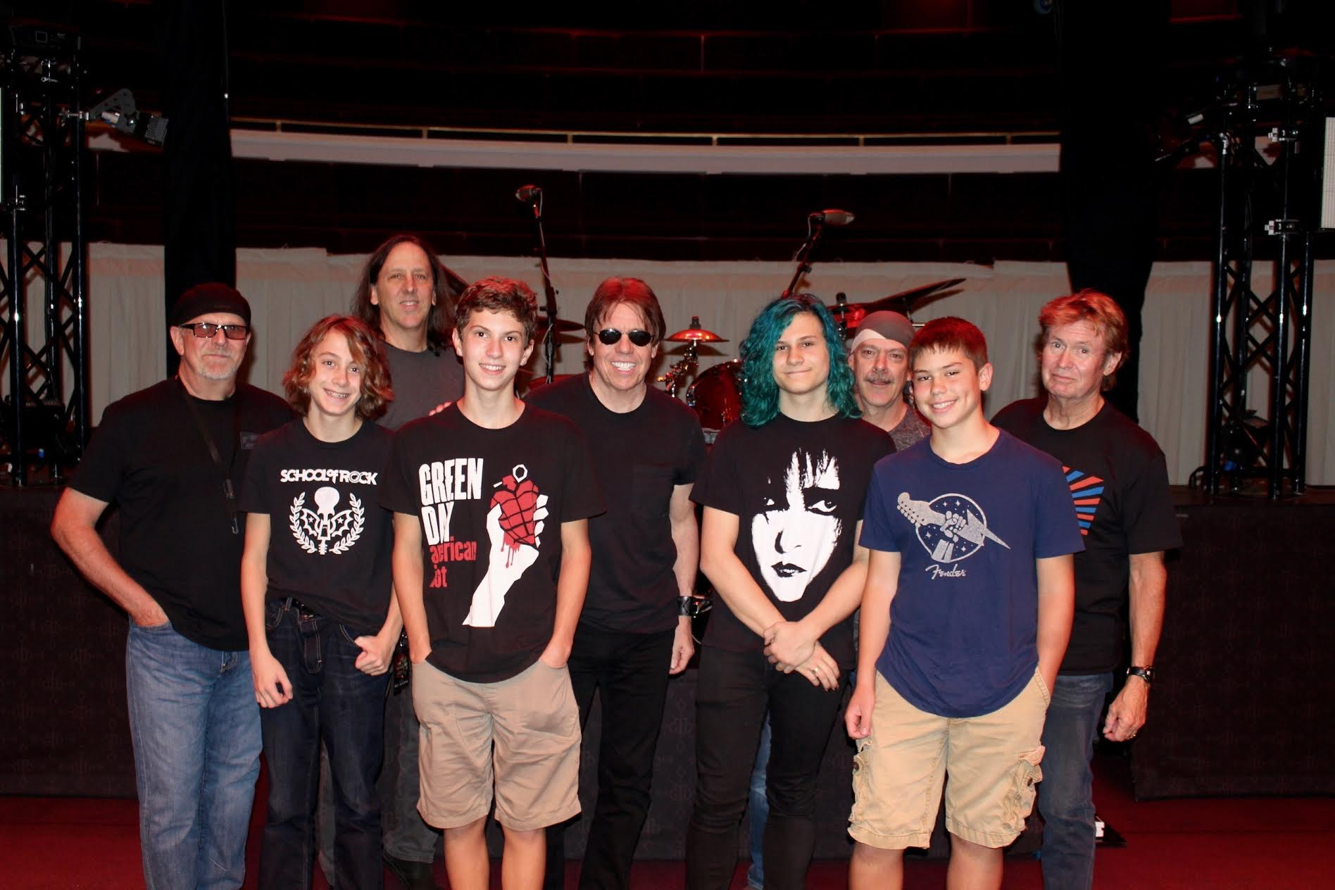 George Thorogood and the Destroyers and members of the School of Rock in Carmel IN