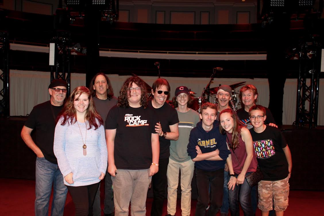 George Thorogood and the Destroyers and members of the School of Rock in Carmel IN 2