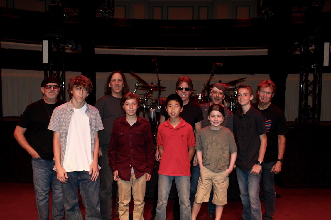 George Thorogood and the Destroyers and members of the School of Rock in Carmel IN 3
